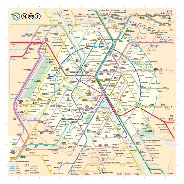 Discover Paris metro