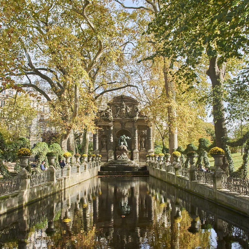 Fontaine Médicis in Jardin du Luxembourg